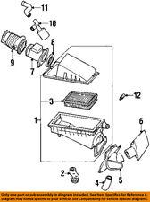 FORD OEM Air Cleaner Intake-Resonator Duct Tube Hose F6RZ9F763CA