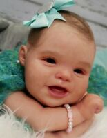 Studio-Doll Baby  Reborn  GIrl ELIANNA by Bonnie Leah Sieben like real baby 21'