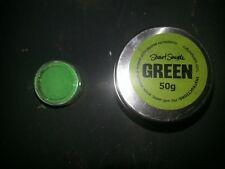 Stuart Semple Greenest Green fluorescent powder acrylic paint 5g tub