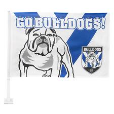 99707 CANTERBURY BULLDOGS NRL TEAM LOGO CAR WINDOW FLAG