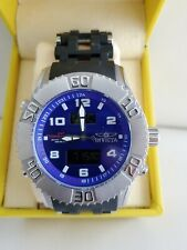 INVCTA SEA SPIDER ANALOG  & DIGITAL MEN'S CHRONOGRAPH WATCH MODEL 5393 BLUE FACE