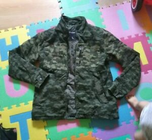Camouflage Jacke Herren Gr L Chapter Herbst Winter Leicht Gefüttert