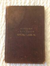 Rare 1892 History & Genealogy of Samuel Clark, Sr. & His Descendants - Pana, IL