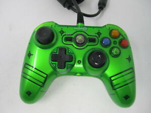 Xbox 360 Power A Wired Controller Green WEAR