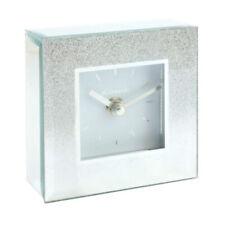 Relojes de pared cuadrados de color plata