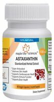ASTAXANTHIN Extract Capsules Anti-oxidant, anti-aging Improve Heart Health