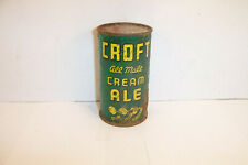 New ListingCroft All Malt Cream Ale Dumper Flat Top Croft Brewing Boston Ma Usbc 52/19