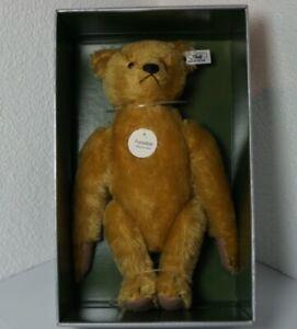 Steiff Teddy Bär - Purzelbär 1909, Replica 1990/91 m. Karton & Zertifikat
