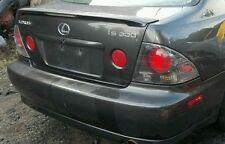 2001 2005 lexus is300 is 300 rear spoiler 01-05
