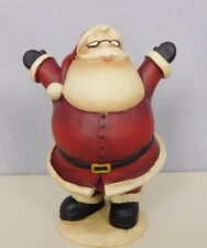 Jolly Santa figurine with his arms wide open - New Blossom Bucket #83107