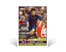 LIONEL MESSI Rookie 2004-2005 FC Barcelona – Cartas Básicas Topps PRE-ORDER