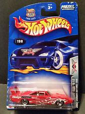 2003 Hot Wheels #198 Final Run 4/12 - Dodge Charger Daytina 1969 - 57144