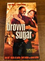 Brown Sugar VCR VHS Tape Movie Mos Def, Sanaa Lathan NR Used