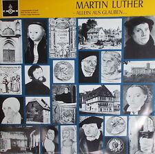 2 LP MARTIN LUTHER Allein aus Glauben + Beiheft,NEAR MINT,Credo GK-B  510/6 - 7