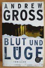 Blut und Lüge von Andrew Gross von 2008 Taschenbuch Thriller