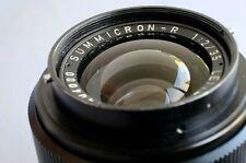 LEICA SUMMICRON-R 35mm F2 LENS