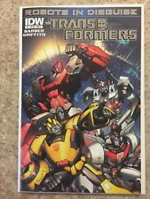Transformers Robots in Disguise (2012) #   1 Cover E Foil by Andrew Griffith (9.