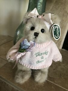"Bearington Bears GRACIE GRATEFUL #1715 2006 Plush 10"" 🐻 💐Thanks A Bunch 💐 NWT"
