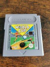 Nintendo World Cup Game Boy FAH