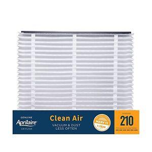 Genuine Aprilaire 210 Clean Air Filter MERV 11 Models 1210, 1620, 2210 and More