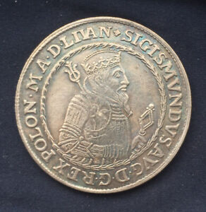 Super Polish *1567* Thaler - Litva / SIGIS-Zygmunt / Restrike
