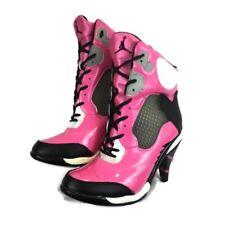 Jordan High Heel Hot Pink Boot/Sneakers Womens SZ 7.5