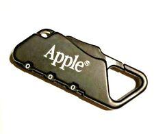 "Apple Computer Luggage Lock Black Combo 2.5"" New"