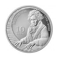 10 euro Saint-Marin 2020 argent BE - Beethoven