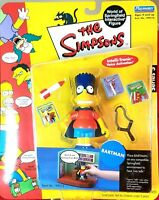 SERIES 5 BART AS BARTMAN THE SIMPSONS WOS ACTION FIGURE PLAYMATES MIP