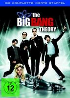 The Big Bang Theory - Staffel 4 / Season 4 - DVD - 2012 - NEU