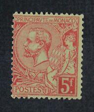 CKStamps: Monaco Stamps Collection Scott#27 Mint H OG