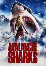 NEW DVD - AVALANCHE SHARKS - Alexander Mendeluk, Kate Nauta, Ben Easterday,