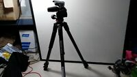 Manfrotto 290 Xtra Aluminum Tripod with MH804-3WUS Lightly used