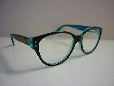 Genuine Glasses Frames Eyeglasses 2 Soul Chunky Black/Blue AK123F - Ref: 1174