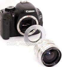Vis M42 pour Canon EOS AF-1 Adaptateur Pour Zeiss DDR PENTAX objectif sur DSLR Canon EF