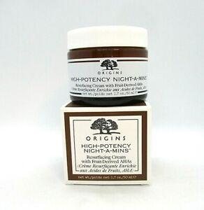 Origins High-Potency Night-A-Mins Resurfacing Cream ~ 1.7 oz  BNIB