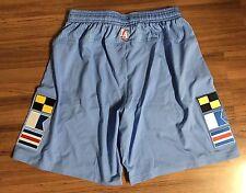 Adidas NBA Authentic Pro Cut LA Clippers Shorts Nautical Flags Mens Sz 2XL XXL