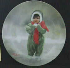 "Vintage Donald Zolan Wonder Of Childhood Collection ""Winter Angel"" #7333A Coa"