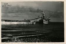 POINTE NOIRE 1937 - Travaux Chemin de Fer Drague au Quai - Congo  PCH 185