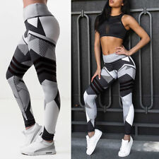 Women PUSH UP High Waist Sports Pants Yoga Leggings Fitness Jogging Trousers G13