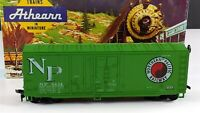 Athearn 2093 Northern Pacific 40' Grain Loading Box Car NP 8434 HO Scale