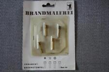 Ornament -Brennstempelsatz für Brandmalerei, 4 versch.