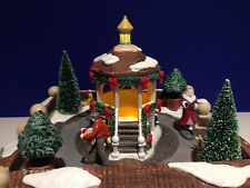 Dept 56 Heritage Village CLASSIC VILLAGE SQUARE w/ box NEW! Animated Lighted