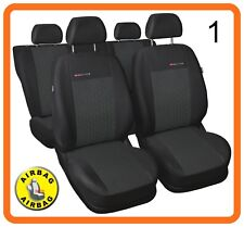 CAR SEAT COVERS full set fit VW Volkswagen Passat - charcoal grey