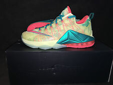 """NIKE LEBRON XII LOW - """"LEARNOLD PALMER""""  - SIZE 11  - LIMITED QUICKSTRIKE"""