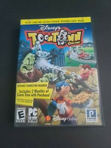 COMPLETE Disney's Toontown Online Game (Case, Disc & All Inserts) RARE