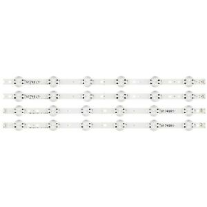 "KIT 4pcs 49"" TV LED Strips For LG 6916L-2862A 49"" V17 ART3 2862 49LV560H-UA"
