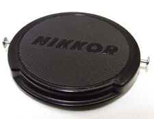 "52mm Nikon ""Nikkor"" Front Lens cap cover genuine JUM 515897 metal clips Genuine"