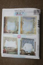 McCall's  Sewing Pattern Crafts Window Valance 5 different Sizes