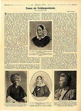 E. Boerschel Frauen als Forschungsreisende Frau Livingstone Miß Annie Taylor1908